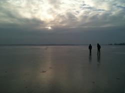 Die Wim de Bie rechts, dat ben ik. Links Evert van Benthem (Remco).